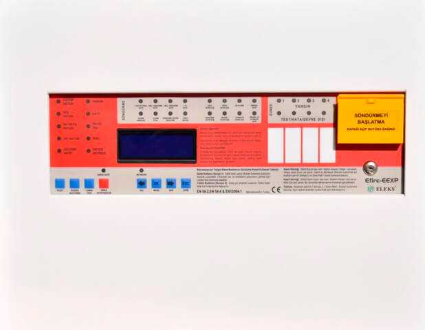 Efire-EEXP-1/2 Fire Detection and Automatic Extinguishing Panel